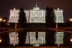 Royal Palace de Madrid Fotos de archivo libres de regalías
