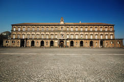 Royal Palace de Nápoles, Italy Fotos de Stock Royalty Free