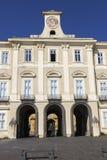 Royal Palace de Portici en Italia imagen de archivo libre de regalías