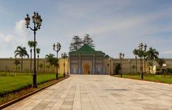 Royal Palace de Rabat fotos de archivo