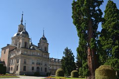 Royal Palace de San Ildefonso's cultivent Images stock