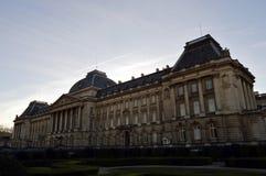 Royal Palace dell'alloggio di Bruxelles Immagini Stock Libere da Diritti