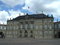 Royal Palace, Denmark, Copenhagen. A view of the Royal Palace in Copenhagen, Denmark Stock Image
