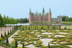 Royal palace of Denmark Stock Photos
