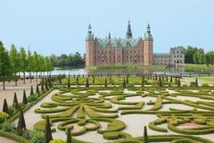 Royal palace of Denmark Stock Photos