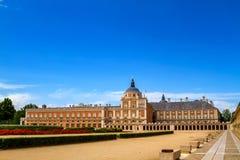 Royal Palace di Aranjuez fotografie stock