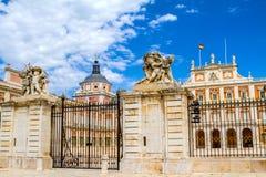 Royal Palace di Aranjuez fotografie stock libere da diritti