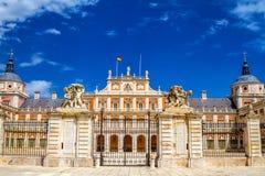 Royal Palace di Aranjuez immagine stock libera da diritti