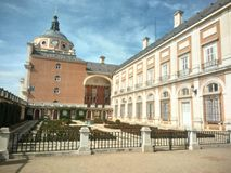 Royal Palace di Aranjuez fotografia stock