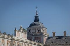 Royal Palace di Aranjuez a Madrid Fotografia Stock