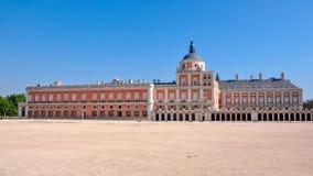 Royal Palace di Aranjuez vicino a Madrid, Spagna fotografie stock libere da diritti