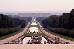 Royal Palace di Caserta immagini stock