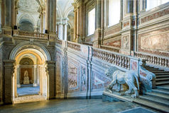 Royal Palace di Caserta Fotografie Stock Libere da Diritti