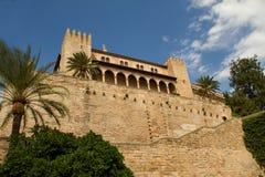 Royal Palace di La Almudaina Fotografia Stock Libera da Diritti