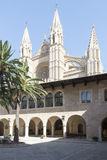 Royal Palace di La Almudaina, Palma de Mallorca Immagini Stock Libere da Diritti