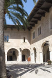 Royal Palace di La Almudaina, Palma de Mallorca Fotografia Stock Libera da Diritti