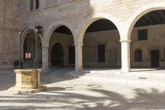 Royal Palace di La Almudaina, Palma de Mallorca Immagini Stock