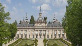 Royal Palace di La Granja de San Ildefonso stock footage