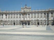 Royal Palace di Madrid Immagine Stock