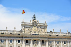 Royal Palace di Madrid, Spagna Fotografia Stock