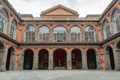 Royal Palace di Napoli fotografia stock libera da diritti