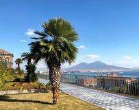 Royal Palace di Napoli, Italia immagine stock libera da diritti