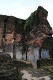 Royal Palace di re Parakramabahu nella città Polonnaruwa del patrimonio mondiale Fotografia Stock