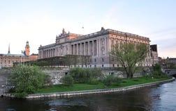 Royal Palace, die Stadt von Stockholm Lizenzfreie Stockbilder