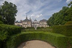 Royal Palace do la Granja de San Ildefonso na província de Segovia, Espanha imagem de stock royalty free