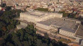Royal Palace do Madri video estoque