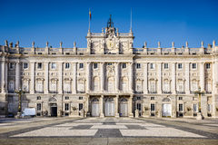 Royal Palace do Madri Foto de Stock