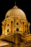 Royal Palace Dome in Budapest Royalty Free Stock Image