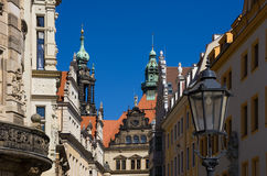 Royal Palace, Dresden, Saxony, Germany Stock Image