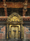 Royal Palace - Durbar Square - Kathmandu stock photography