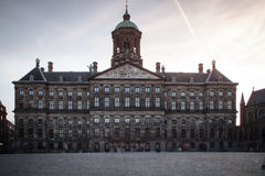 Royal Palace (Dutch: Koninklijk Paleis) Stock Photography
