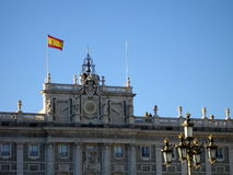 Royal Palace em Madrid foto de stock
