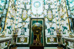 Royal Palace em Madrid Fotografia de Stock