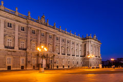 Royal Palace em Madrid Spain Fotografia de Stock Royalty Free