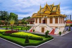 Royal Palace em Phnom Penh, o Kingdom of Cambodia imagem de stock