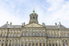 Royal Palace en Amsterdam Fotografía de archivo libre de regalías