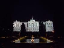 Royal Palace en Madrid Foto de archivo