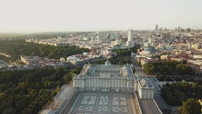 Royal Palace en Madrid metrajes