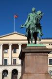 Royal Palace en Oslo Imagenes de archivo