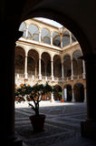 Royal Palace en Palermo, Sicilia Fotografía de archivo libre de regalías