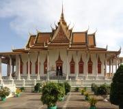 Royal Palace en Phnom Penh Imagen de archivo libre de regalías