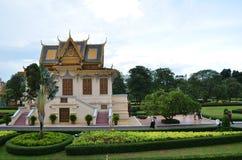 Royal Palace en Phnom Penh, Camboya Fotos de archivo