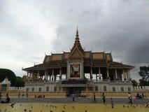Royal Palace en Phnom Penh - capital de Camboya Foto de archivo