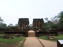 Royal Palace en Polonnaruwa Fotografía de archivo