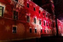 Royal Palace en Varsovia Fotografía de archivo libre de regalías