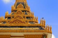 Royal Palace en Vogel Stock Foto